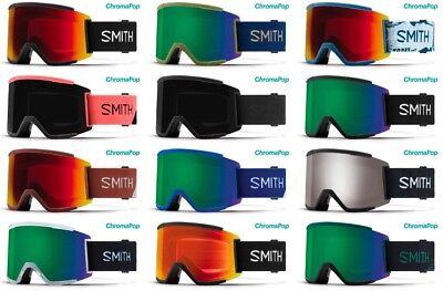 SMITH OPTICS SQUAD XL SKI SNOWBOARDBRILLE CHROMAPOP NEU