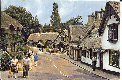 Isle Of Wight: Old Village, Shanklin - Posted 1966 - J Arthur Dixon