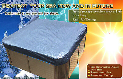 customize vary size 254cm X 226cmx30cm  hot tub cap,spa cover sun shield