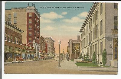 North Arthur Avenue  Pocatello  Idaho 1950