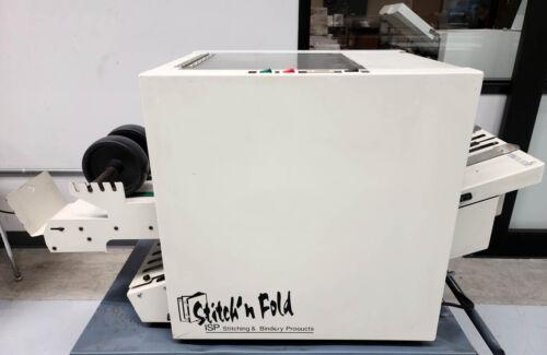 MBM Stitch Fold ISP B-2000 Booklet Maker – Duplo Morgana Plockmatic