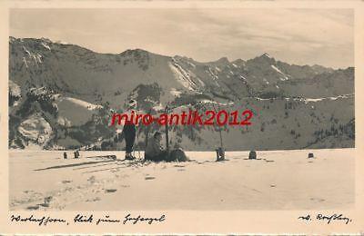 AK, Foto, Alpenpanorama - Umgebung Matterhorn ?, ca 1930; 5026-94