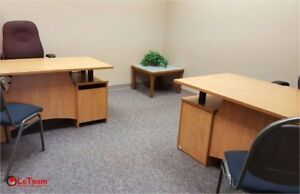 OFFICE SPACE RED DEER-FULLY FURNISHED OFFICES-$425/MONTH