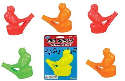 Warbling Bird Whistle (Set of 6 Warbling Bird Whistles Party Favors Speech Therapy)