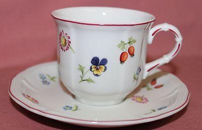 Kaffeetasse mit Untere Villeroy /& Boch Petit Fleur