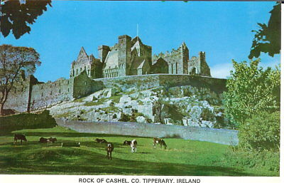 Ireland: Rock of Cashel, Co. Tipperary - Unposted c.1970's