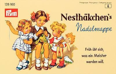 Prym Nähnadeln Stopfnadel Sortiment Nadelmappe Nostalgie Nesthäkchen 128160