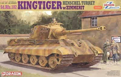 Dragon 6303 1/35 <FULL VER Magic Track>King Tiger Henschel Turret w/Zimmerit