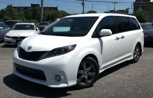 2015 Toyota Sienna SE LEATHER! DUAL CLIMATE! POWER SLIDING DO...