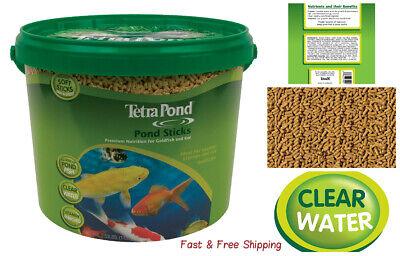 Koi And Goldfish (TetraPond Pond Sticks, Healthy Nutrition for Goldfish and Koi- 2.5 lb )