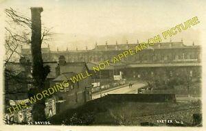 Exeter St. Davids Railway Station Photo. Great Western Railway. (8)
