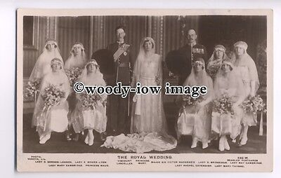 r0769 - The Royal Wedding Of Princess Mary & Viscount Lascelles - postcard