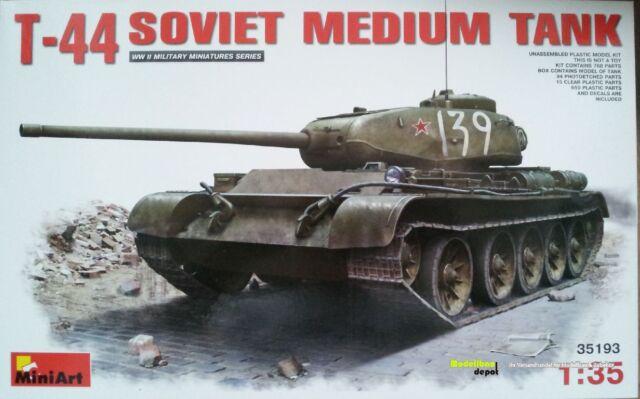 Miniart T-44  Soviet Medium Tank  1:35