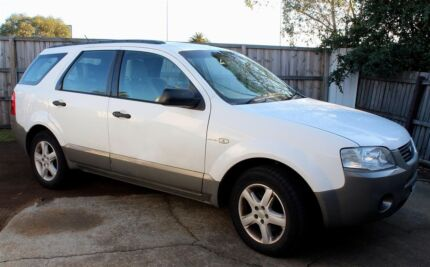 2005 Ford Territory Wagon New Town Hobart City Preview