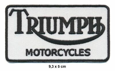 TRIUMPH Patches Aufnäher Aufbügler Motorrad Speed Triple Scrambler Bonneville ()