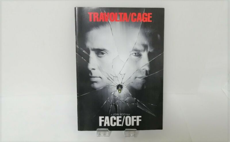 Face/Off Japan Movie Program 1997 John Travolta  Nicolas Cage John Woo Film