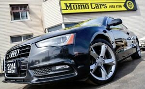 2014 Audi A5 2.0 T QUATTRO+Bluetooth! ONLY $179/bi-weekly