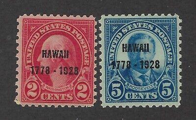 United States Scott 647-648 Mint Hinged