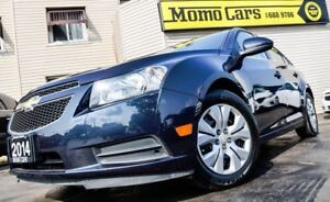 2014 Chevrolet Cruze 1LT! LOW KMS+CLEAN CarProof! ONLY $118/bi-w