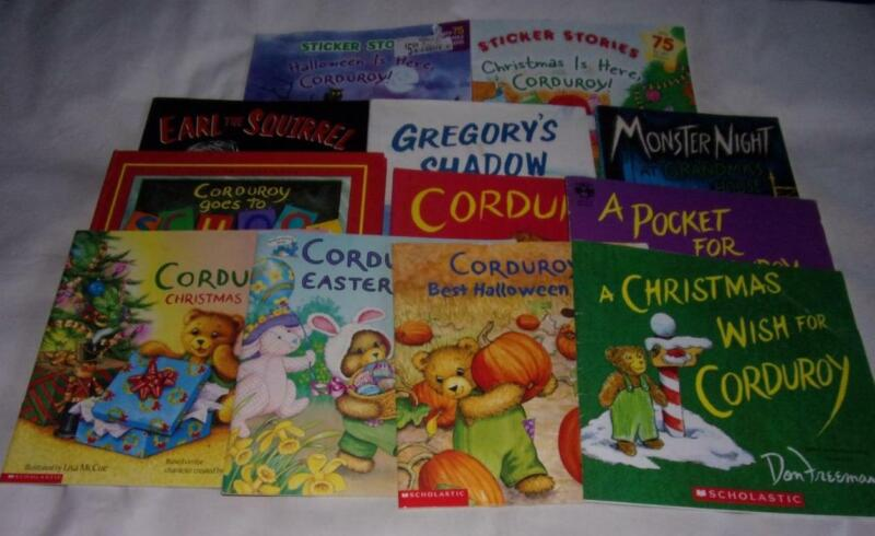 HUGE set of 12 Corduroy+ picture books by Don Freeman