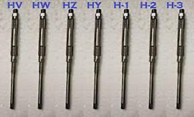 7 Pcs Adjustable Hand Reamer Set Hv To H-3 14 - 1532