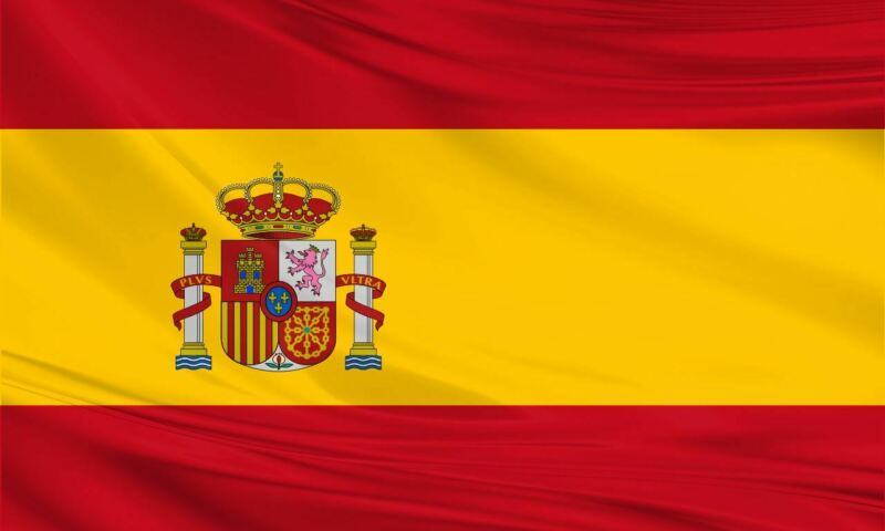 Giant Polyester Spain Flag 8x5 / 244x150cm Spanish Europe Football Sport Espana