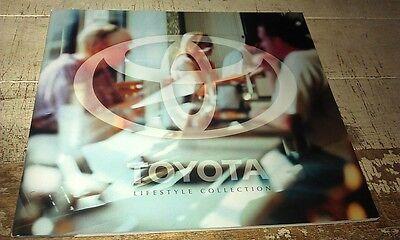 2000 TOYOTA Merchandise  Australian  Sales Brochure CELICA MR2 Landcruiser etc