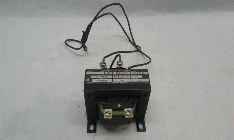 Allen-Bradley X-343858 Control Circuit Transformer, 240/480V, 50/60Hz