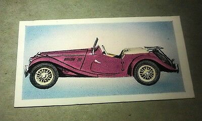 1954 MG TF Sports Car  Orig Cadet Cigarette Card UK
