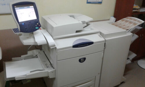 Xerox DocuColor 242 Production Printer Copier Scanner with Booklet Finisher