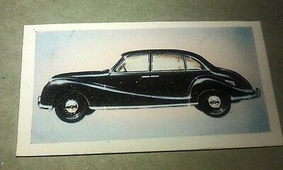 1954 BMW 501 Saloon  Orig Cadet Cigarette Card UK