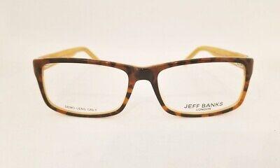 JEFF BANKS LONDON JB039 eyeglasses Frame TORTOISE HONEY 54mm Designer (Optical London)