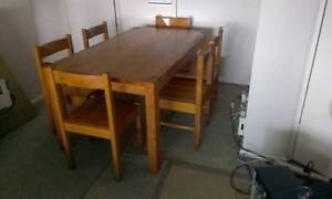 Solid Pine Table w/6 chairs Greenwich Lane Cove Area Preview