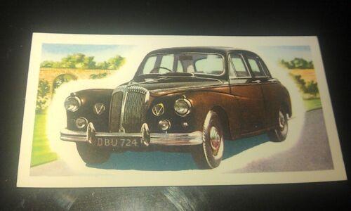 1963 DAIMLER MAJESTIC MAJOR Orig Priory Tea I SPY Trade Card UK
