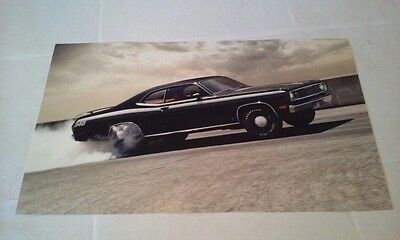 1971 Plymouth Duster 340 Muscle Car Picture Poster Page from new Calendar