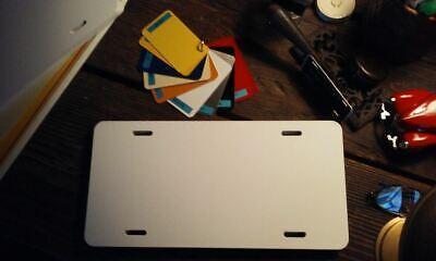 Aluminum Auto License Plate Blanks- Air Brush And Silk Screen Printing - 100pcs