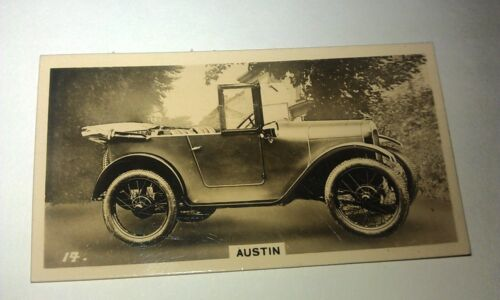AUSTIN 7 -   -  Wills New Zealand Real Photo Cigarette Card Issued 1926