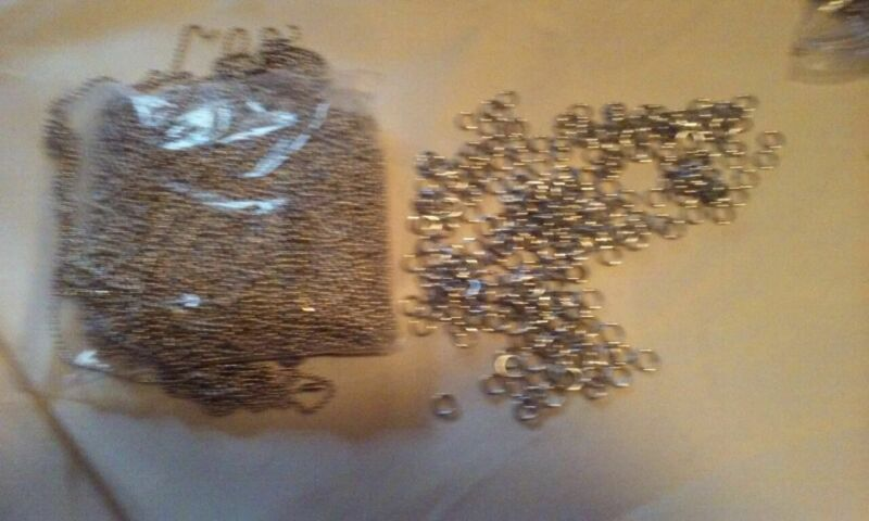 """30"""" Ball Chains with Connectors and Jump Rings- 100PC Lots"""