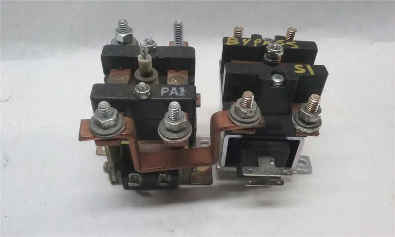 AMETEK HB1WM3603B 200A 36V & Contact Industries 6R8594 CT200A36B2 200A Contactor