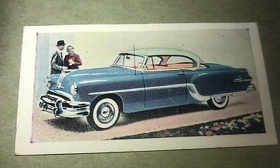 1954 PONTIAC STAR CHIEF   Orig Cadet Cigarette Card UK