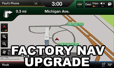 My Ford Touch Navigation Upgrade Kit - Plug n' Play OEM Factory SYNC 2 MFT GPS for sale  Buckner