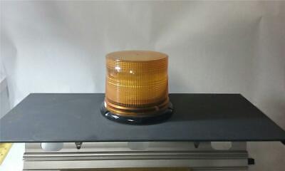 Whelen L10 Series Super-led Amber Beacon Light W Acari Mounting Low Profile