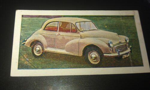 1959 MORRIS MINOR   Orig Trade Card UK