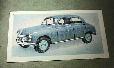 1954 FIAT 1400 Saloon  Orig Cadet Cigarette Card UK