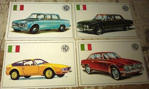ALFA ROMEO - Famous Cars by Top Sellers Ltd UK Trade Cards RARE - Zagato Sprint