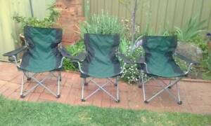 CAMPING CHAIRS Greenwith Tea Tree Gully Area Preview