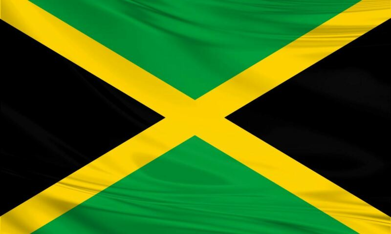 3 Jamaican Flags 5x3/150x90cm Large Polyester Caribbean Island Carnival Reggae