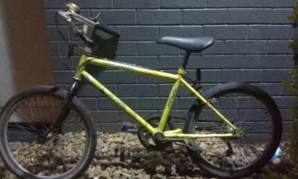 Boys fluro green bike - 8 to 11 years - 5 speed derailleur Gears. Bardon Brisbane North West Preview