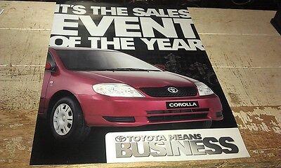 2003  TOYOTA  Australian  Sales Brochure Landcruiser Hilux Corolla Celica MR2