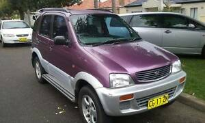 1998 Daihatsu Terios Wagon Bankstown Bankstown Area Preview